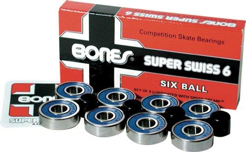 Bones Bearings Kugellager Super Swiss 6 Balls, 18024 Preisvergleich