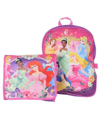 Preisvergleich Produktbild Old Glory Disney 5Princesse Grand Sac à Dos et Sac bandoulière détachable Sac Violet