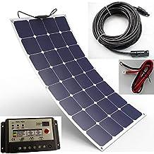 Spark - Panneau solaire souple durable 100 W composé de cellules  Back-Contact - Kit 13a798de24de