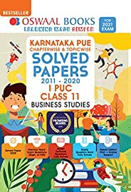 Oswaal Karnataka PUE Solved Papers I PUC Business Studies Book Chapterwise & Topicwise (For 2021 E