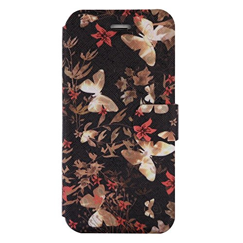"""For IPHONE 7 4.7""""[COLORFUL PU DDUD]Fashion Cute Magnetic Snap Wallet Card Flip Synthetic Holster Leather Stand With TPU Case Cover -DD07 DD03"""