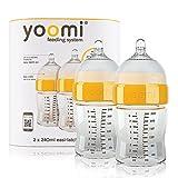yoomi 8oz/240ml Feeding bottles (Pack Of 2)