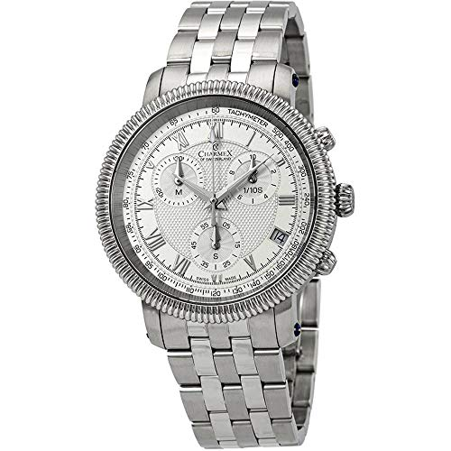 Charmex Men's President II 42mm Steel Bracelet Quartz Analog Watch 2995