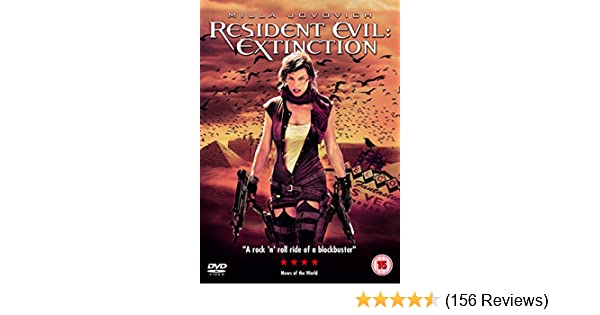 Resident Evil: Extinction [DVD]: Amazon co uk: Milla