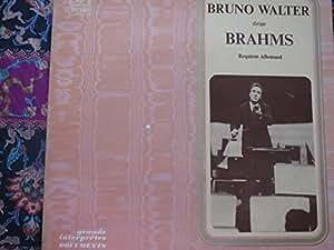 Brahms: Requiem allemand (Ein deutsches Requiem) [Vinyl LP] [Schallplatte]