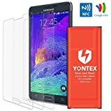 Note 4 Battery [NFC/Google Wallet Capable], yontex 3220mah Replacement Battery for Samsung Galaxy