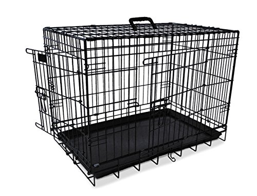 Nobby 62312 Transportkäfig für Hunde Faltbar schwarz 78x55x62 cm