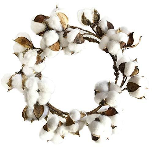 Turkeybaby ghirlanda di natale,natale giorno del ringraziamento fiore di cotone artificiale ghirlanda ghirlanda albero di natale casa vacanze festa negozio capodanno decor