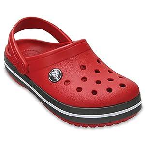 Crocs Crocband Girls Clog in Red