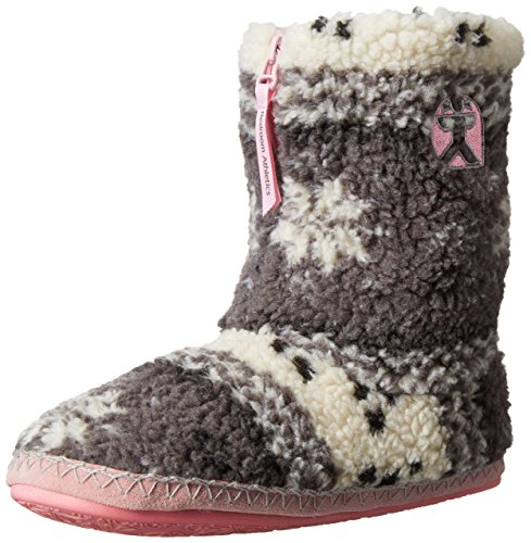 Bedroom Athletics Jessica, Chaussons homme Multicolore - Multicolor (Grey/Soft Pink)