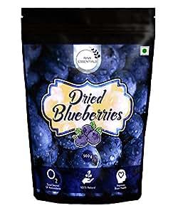 Raw Essentials Premium Whole Dried Blueberries, 500g