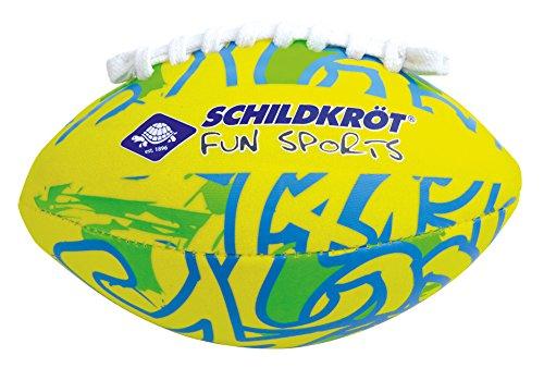 Schildkröt Neopren MINI AMERICAN FOOTBALL, 16x10cm, Größe 2, griffige textile Oberfläche, salzwasserfest, ideal für Kinder-Hände, 970283 - 7 X 10 Rugby