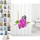 Sanilo Duschvorhang, viele schöne Duschvorhänge zur Auswahl, hochwertige Qualität, inkl. 12...