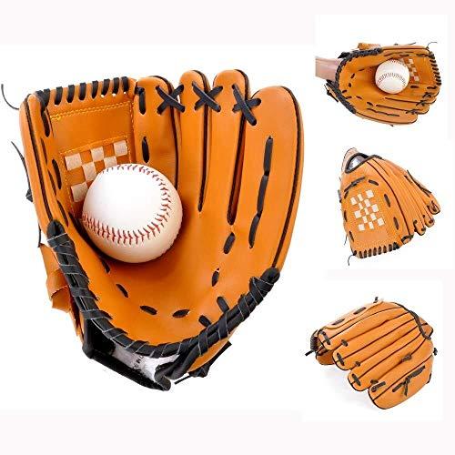 huhe Kinder Junior 10,5 Zoll Catcher Mitt Softball Handschuhe Pitcher Batting Handschuhe Verdickung (Size : 10.5 inches) ()
