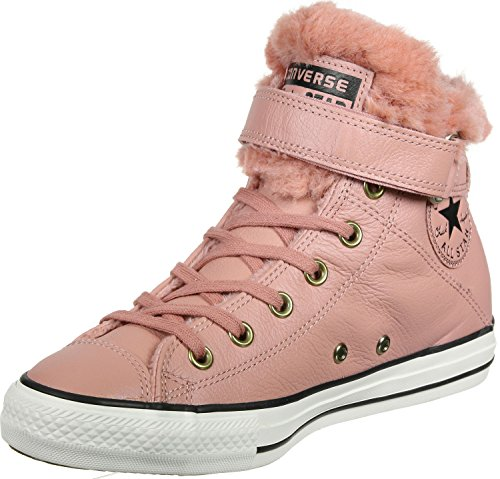 Converse Chuck Taylor All Star Brea leather Fur women sneaker Pink Blush Pink Blush