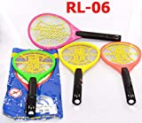 Rajhans Unique 3-Layer Safety Mesh Rock Light Mosquito Killer Fly Swatter Bug Zapper