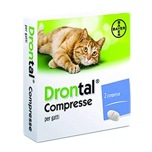 CentroVete Bayer Vermifugo antiparassitario per Gatto in compressa (2 CPR) - combatte i Principali parassiti intestinali