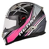 Best Cascos Integrales - NENKI Casco Integral Moto NK-863 para Mujer Hombre Review