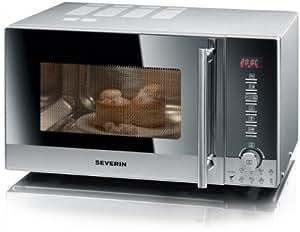Severin 7872 Micro-ondes Inox Brossé 30 L 900 W