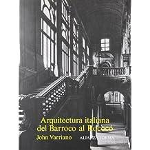Arquitectura italiana del Barroco al Rococó (Alianza Forma (Af))