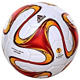 Geschenkideen UEFA Europa League Capitano Training Football White/Burgundy/Solar Red - size 5