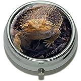 Bearded Dragon - Beardie Lizard Reptile Pill Case Trinket Gift Box