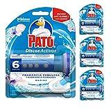 Pato Dischi Attivi Pulitore Automatico per WC, Marine, Confezione da 5 x 150 g, Totale: 6.00 g