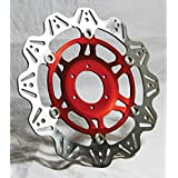 Brake rotor vee series floating contour - vr2095red - Ebc 17102130