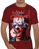 Stylotex Slimfit Fashion T-Shirt So sehn Sieger aus Shout for Polen Polska, Farbe:rot;Größe:XL