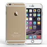 Yousave Accessories iPhone 6S Plus / 6 Plus Hülle Ultradünne 0.6mm Silikon Gel Schutzhülle - Transparent