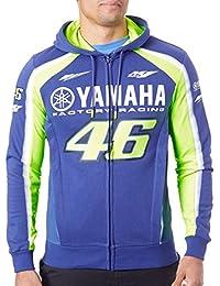 Valentino Rossi Sudadera con cremallera Yamaha Racing Azul Royal