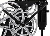 Wanduhr - Mechanisches Getriebe Stille Pendeluhr Familie Dekorationen (Metall)
