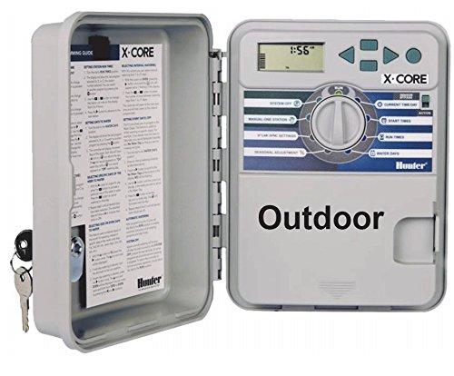 Hunter X-Core 401 - Consola de riego para las4estaciones (exteriores)