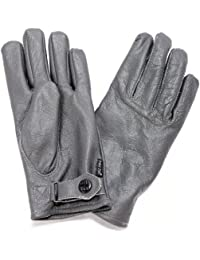 Bundeswehr German Armed Forces Leather Glove Padded Grey