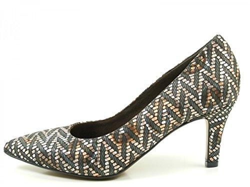 Tamaris 1-22414-28 Schuhe Pumps Stiletto , Schuhgröße:38;Farbe:Braun
