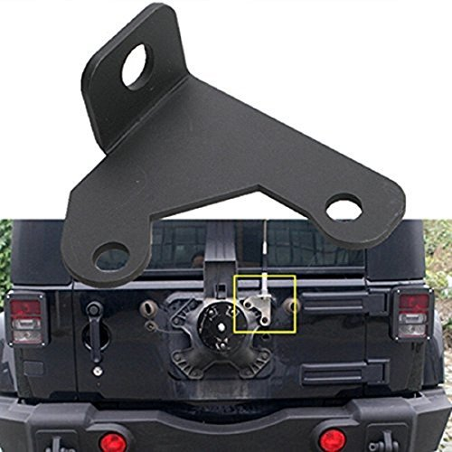 Sporthway Car Spare Tire CB Antenna Mount For 2007-2015 Wrangler Unlimited Rubicon Liberty Sahara Jk 2/4 Door by Bolaxin