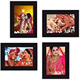 "Creative Arts N Frames Photo Frame Collage || Set Of 4 Ps || Photo Size : 5""x 7"" 