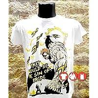Escanor The sin of Pride, maglia bianca, maglietta t-shirt, felpa, canotta, Seven Deadly Sins Nanatsu no Taizai
