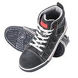 KREXUS Arbeitsschuhe Hoche Sneaker Sportlich Grau Gr. 46 EX11107-46