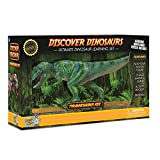 Discover with Dr. Cool T-Rex Action Figure – Includes Real Dinosaur Bone Fossil!