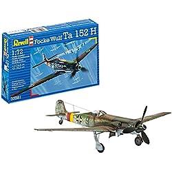 Revell- Focke Wulf Ta 152 H, Kit de Modelo, Escala 1:72 (3981) (03981), 14,8cm (