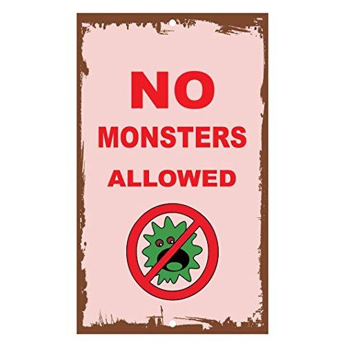 d No Monsters Allowed, aus Aluminium ()
