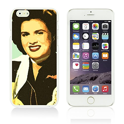 OBiDi - Celebrity Star Hard Back Case / Housse pour Apple iPhone 6 Plus / 6S Plus (5.5)Smartphone - Beautiful Queen Elizabeth II Patsy Cline
