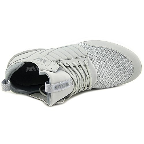 Supra Method, Haute sneakers Homme Light Grey-White