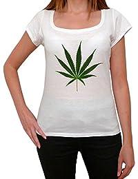 Cannabis green design T-shirt Femme,Blanc, t shirt femme,cadeau