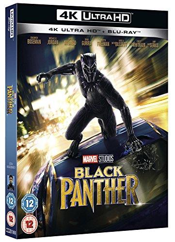 Black Panther [4K UHD] [Blu-ray] [2018] [Region Free]