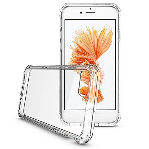 iProtect iPhone 7 e iPhone 8 Clear Crystal Soft Case custodia in TPU 0,3mm trasparente Clear Softcase trasparente