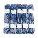 Gründl 755-69 Lisa print Wolle, 100 % Polyacryl, blau, 32 x 27 x 6 cm, 10er-Pack
