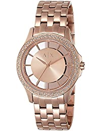 Armani Exchange Analog Rose Gold Dial Women's Watch - AX5252