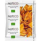 Nuteco Chips de Mango BIO - 5 Paquetes de 90 gr - Total: 450 gr